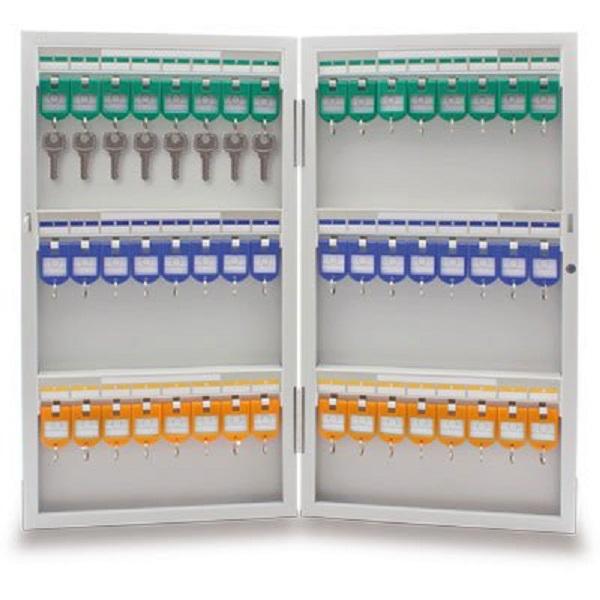 Armário Organizador de chaves em aço para 48 chaves 8703 Easy Space CX 1 UN