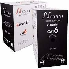 CABO DE REDE  CAT6 4Px23 AZUL 305 Metros - Nexans