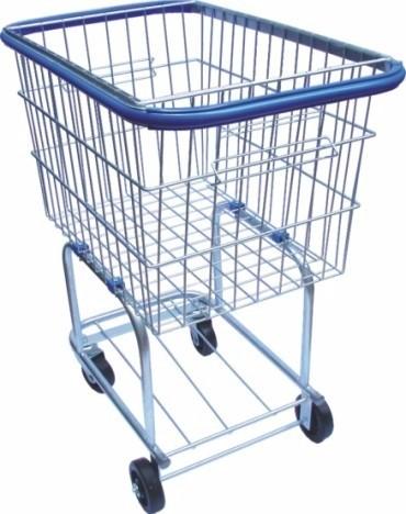 Carrinho de compras SIMPLES em ferro galvanizado - 140 litros