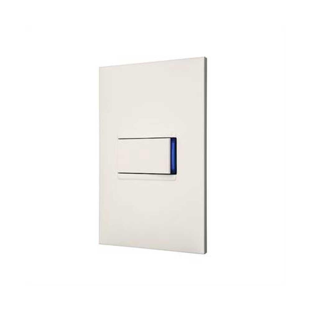 Conjunto 4 x 2 para 1 Interruptor Simples Horizontal 10A Branco Plus+ - Pial Legrand