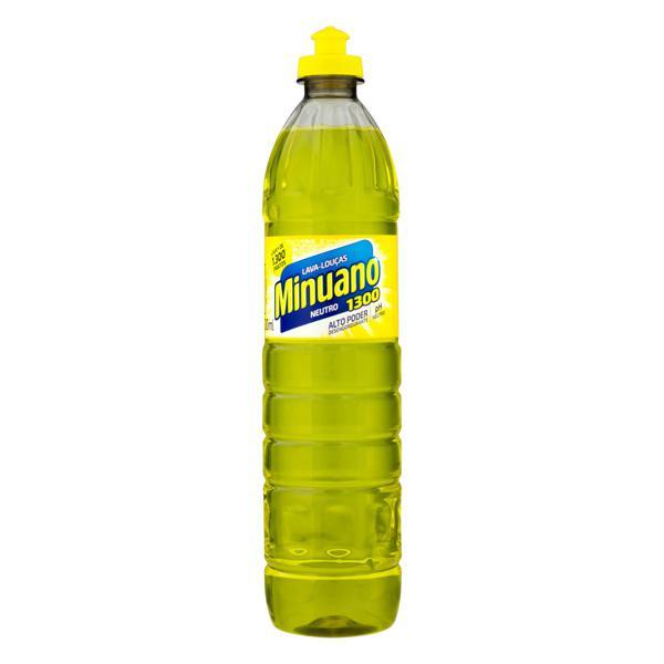 Detergente Líquido Minuano 500ml