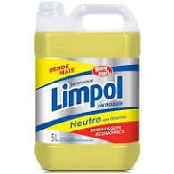 Detergente líquido neutro – Limpol -  5 litros