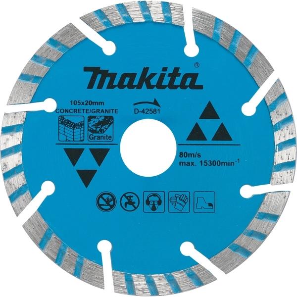 Disco de Corte Diamantado Turbo 105x20mm Makita