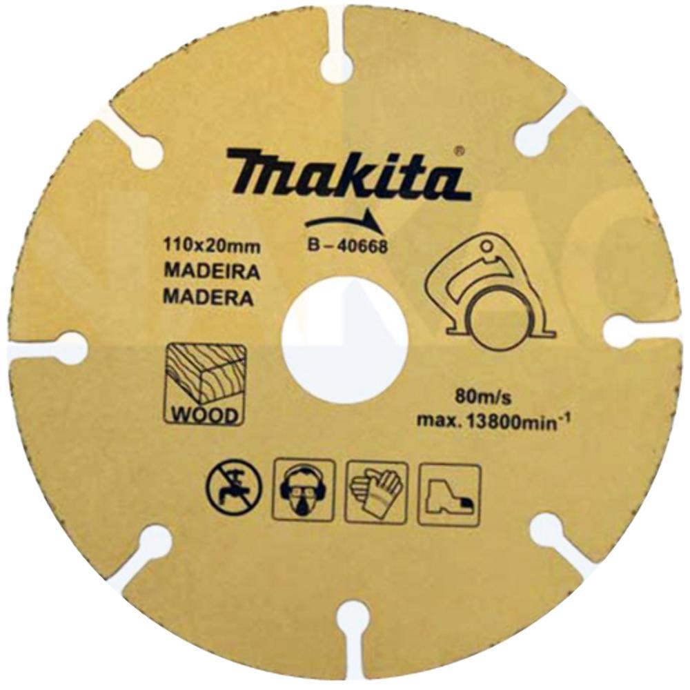 Disco de Serra para Madeira com Grãos Tungs  Makita