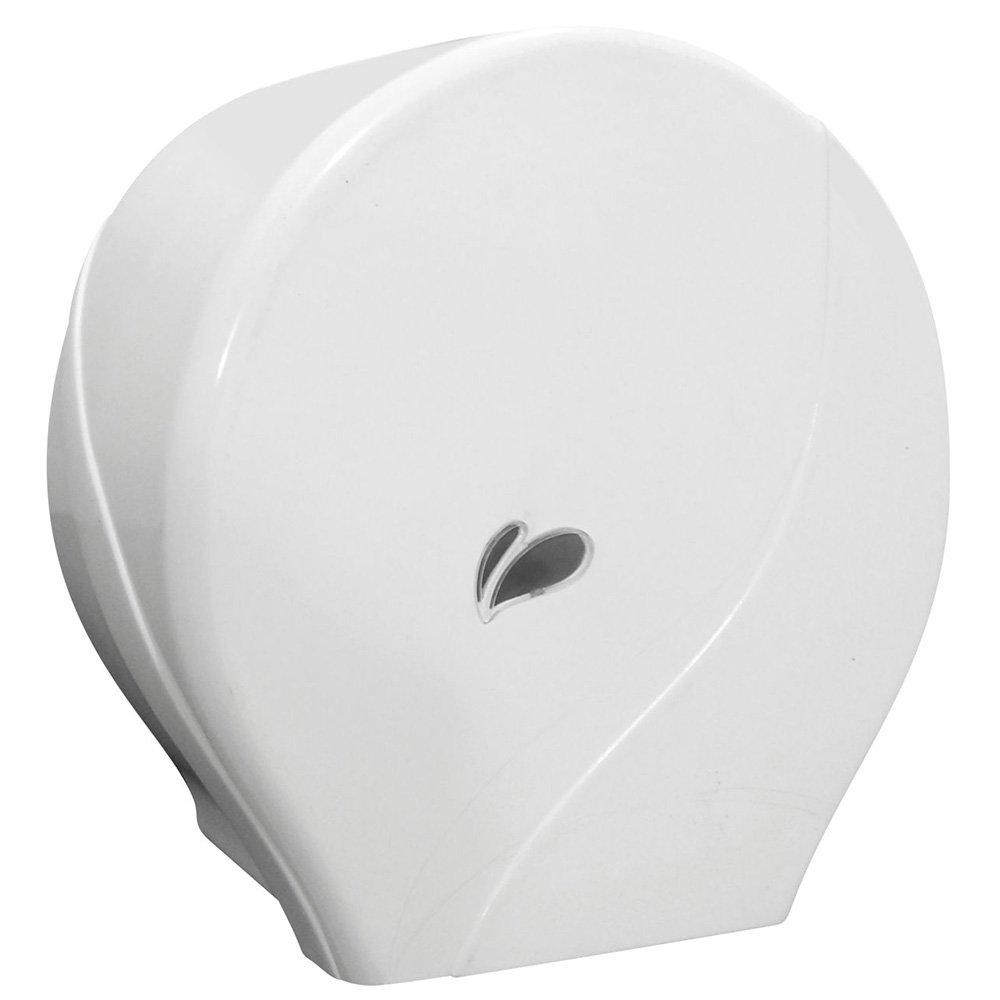 Dispenser de papel higiênico rolo 300m branco  1071 Biovis CX 1 UN