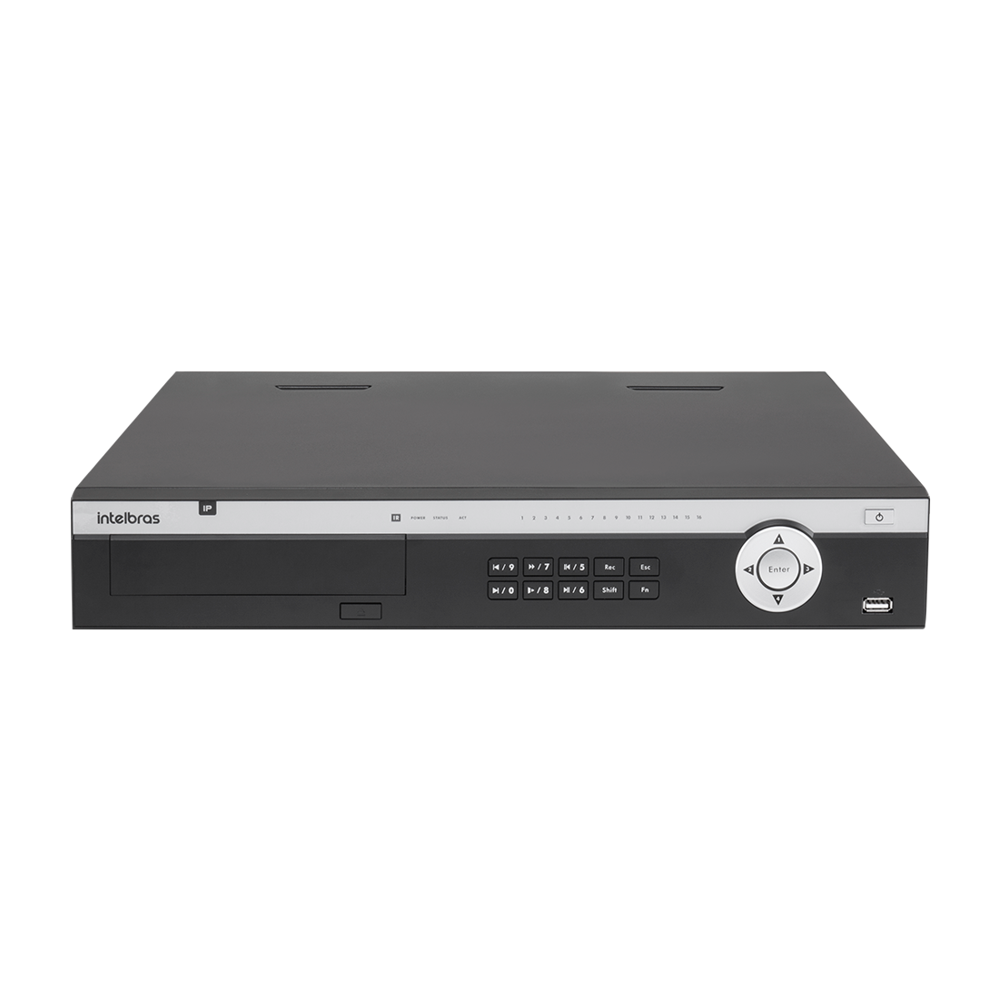 DVR gravador de imagem NVD 5124 com HD 1 TERA - INTELBRAS