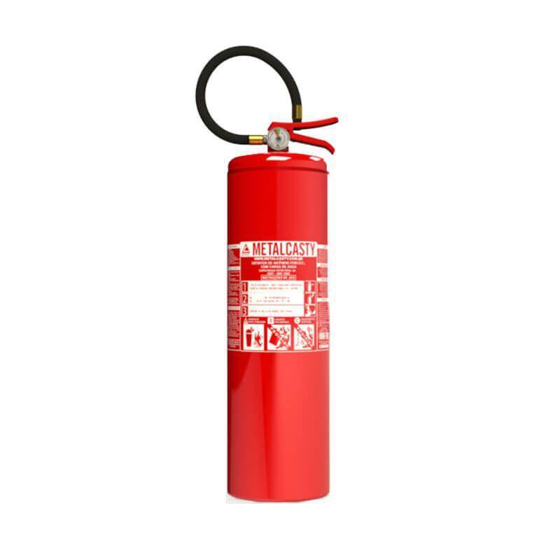 Extintor Água Classe A 10L Metalcasty