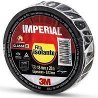 Fita Isolante Imperial Slim 18mm Rolo com 5 metros