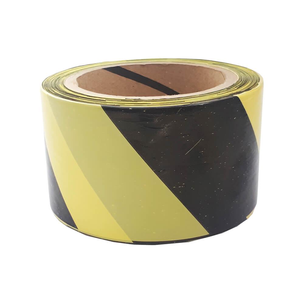 Fita para Sinalização THR Amarela/Preta 65 x 160M