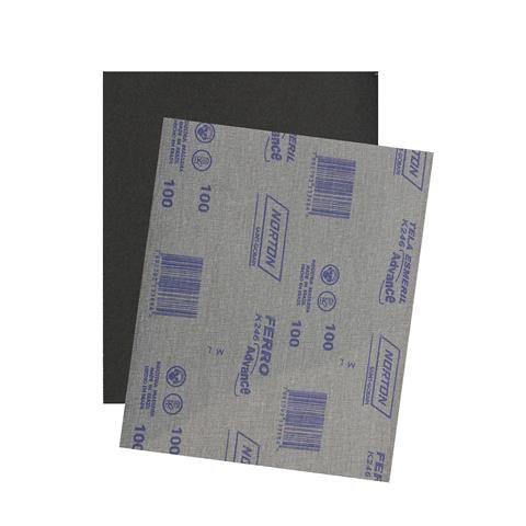 Folha de Lixa para Ferro GR100 K246 225x275mm - Norton