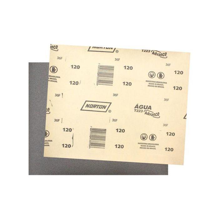Folha Lixa Dagua T223 GR120 – Norton