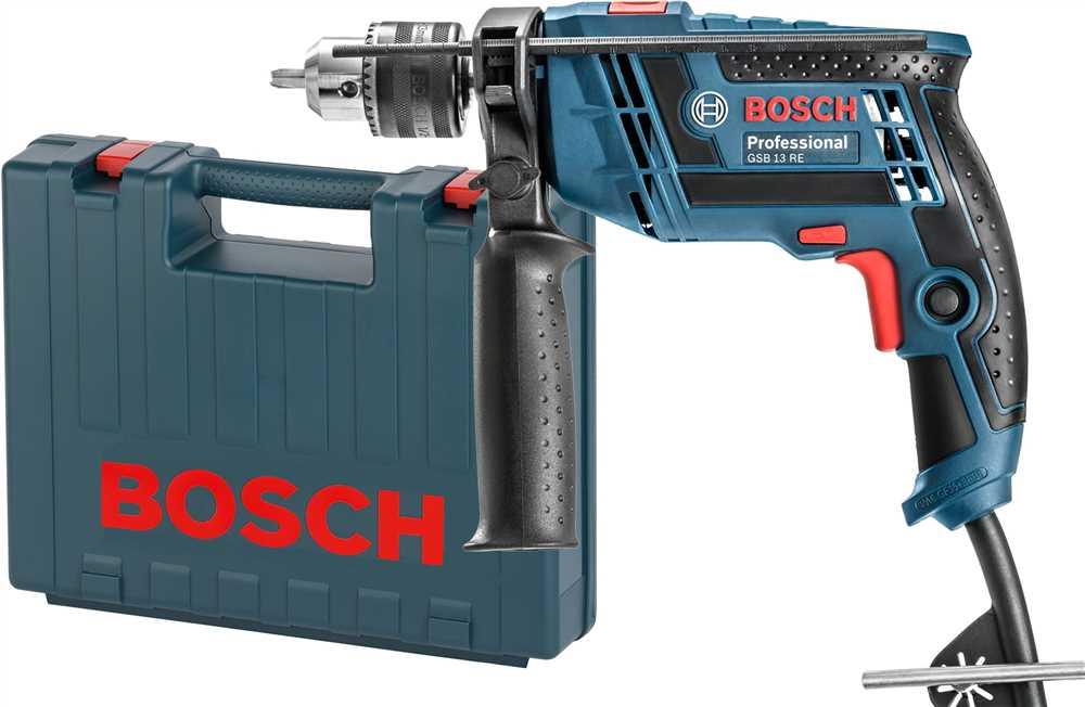 """Furadeira de Impacto 1/2"""" 650W GSB13RE com Maleta 127V (110V) Bosch"""