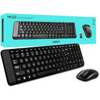Kit wireless (teclado/mouse) MK220 Logitech CX 1 UN