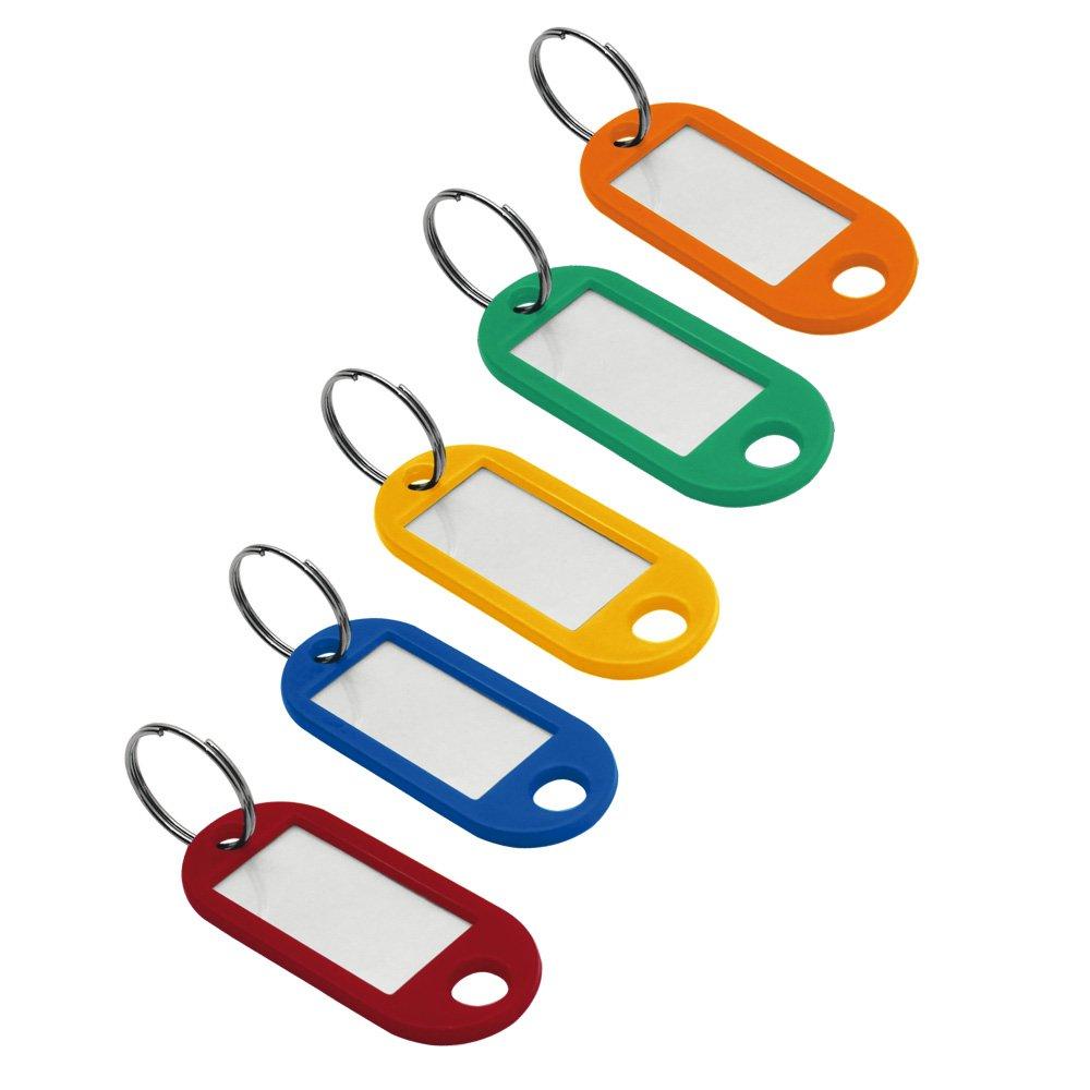 Organizador de chaves pote (com 50 chaveiros sortidos) Easy Space PT 50 UN