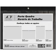 Porta Quadro Horário Horizontal 24x34cm 305 1 UN ACP