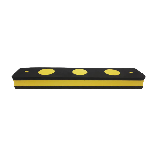 Protetor Elastobor Eva de Para Choque Preto/amarelo 40x8x4cm