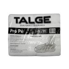 Protetor para calçado descartável de TNT Talge PT 100 UN