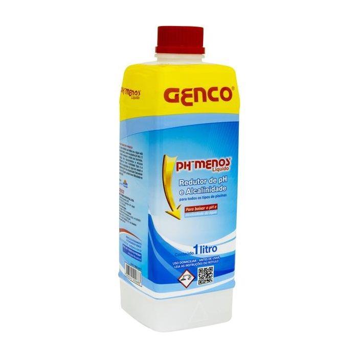 Redutor de Alcalinidade e pH 1L Genco