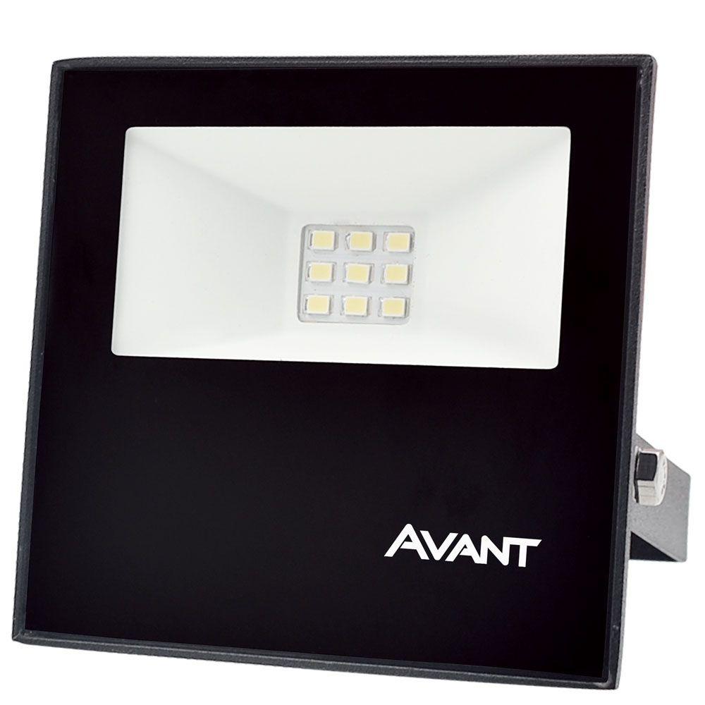 Refletor Slim LED 10W 750 Lumens IP65 Luz Branca
