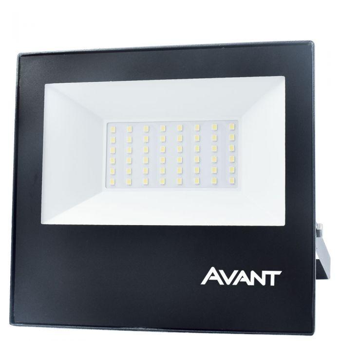 Refletor Slim LED 50W 3750 Lumens IP65 Luz Amarela