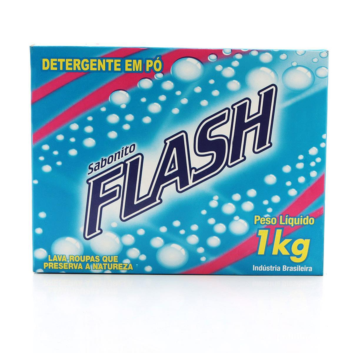 Sabão em pó Flash - 1 Kilo