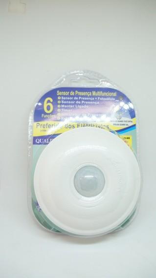 Sensor De Presença Multifuncional Qualitronix