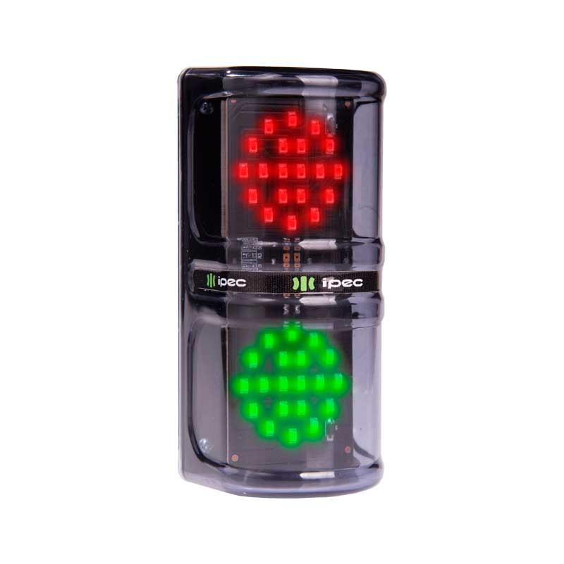 Sinalizador - semafóro de led -12 v - bivolt