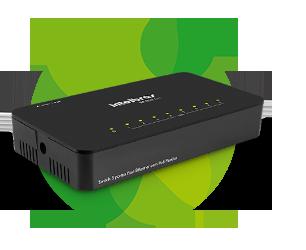Switch 8 Portas Fast Ethernet SF 800 Q+ - Intelbras