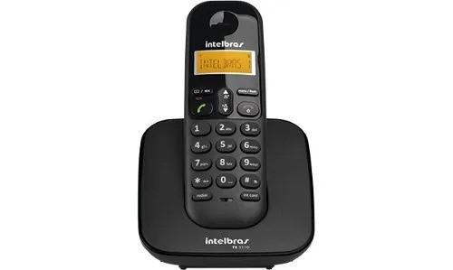 Telefone sem fio TS3110 Preto Intelbras