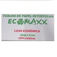 Toalha de papel interfolha - Ecomaxx - 1000 folhas
