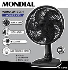 Ventilador  Mondial 30 cm  - Maxi Power – 6 pás
