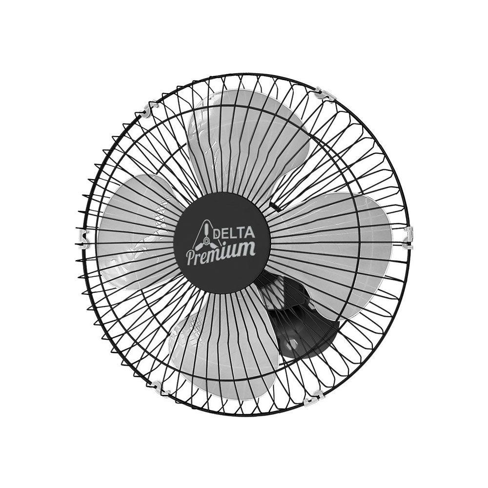 Ventilador Oscilante Parede 170W Bivolt 50CM Preto - Venti-Delta
