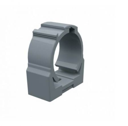 Abraçadeira PVC Cinza 1