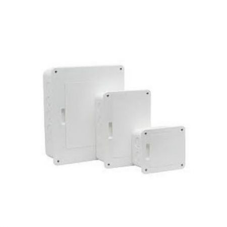 Quadro para 8 Disjuntores PVC Embutir Branca