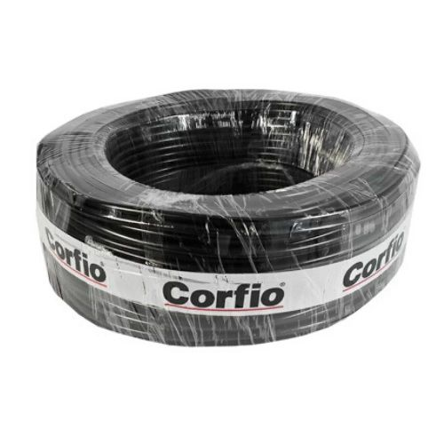 Cabo PP 2x1,0mm Rolo 100mts Corfio