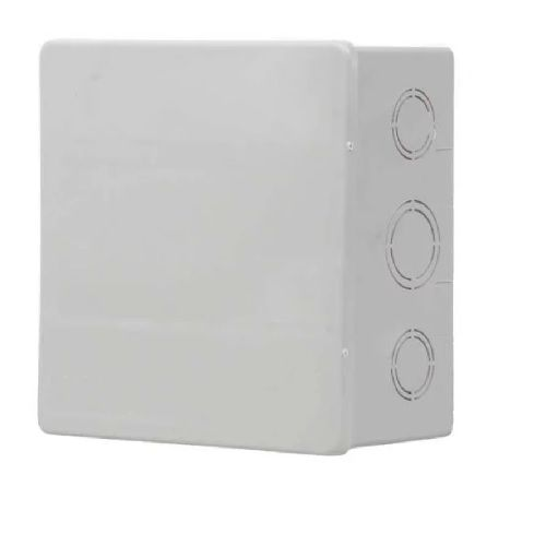 Caixa de Passagem PVC 20x20x7cm Branca