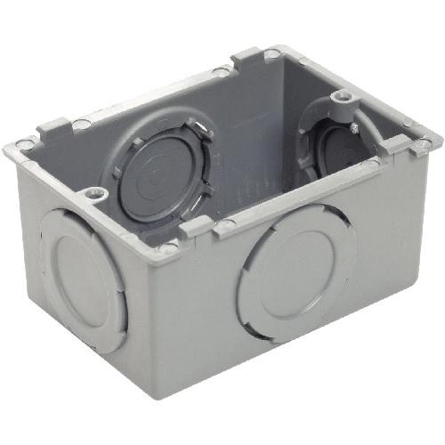 Condulete Múltiplo PVC Cinza Plastibox Tramontina
