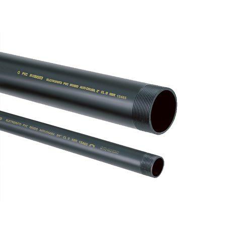 "Eletroduto PVC 1/2"" Preto Amanco"