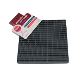 Aparador de panela em silicone Quadrado