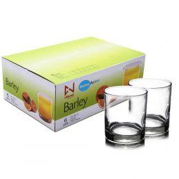 Conjunto de copos Barley 6 Peças - 320Ml De Vidro