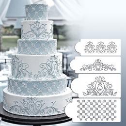 Bolo Stencil Molde Vazado Grande Decoração de bolo