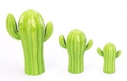Cacto Cactus decorativo pequeno Green Verde Ceramica