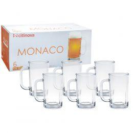 Caneca Monaco 6 Peças - 380Ml