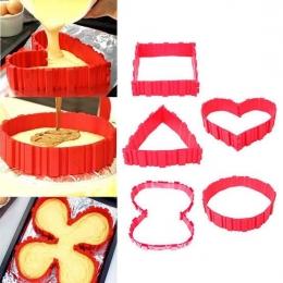 Cinta de silicone para moldar bolos massa tortas