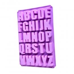 Forma de Silicone Alfabeto 33cm letras de chocolate gelo etc