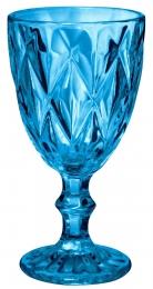 Jogo De Copa Taça De Vidro 6 Unidades 320ml Azul