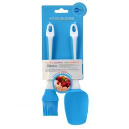 Kit Cook 1 Espatula e 1 Pincel - Silicone