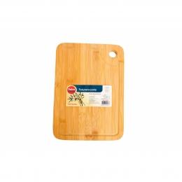 Tabua para corte de bambu ecológica 30x 20cm premium