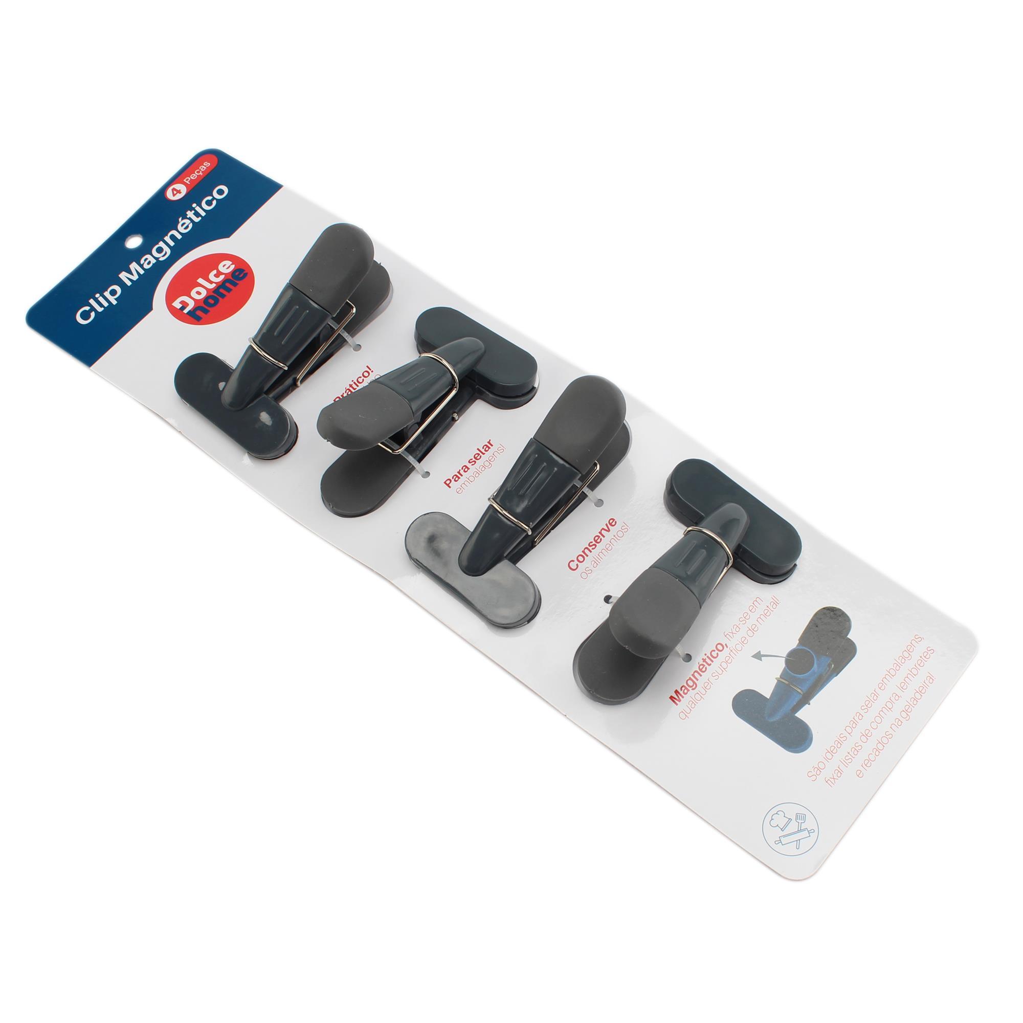Clip Magnético para fixação em metal ou vedação