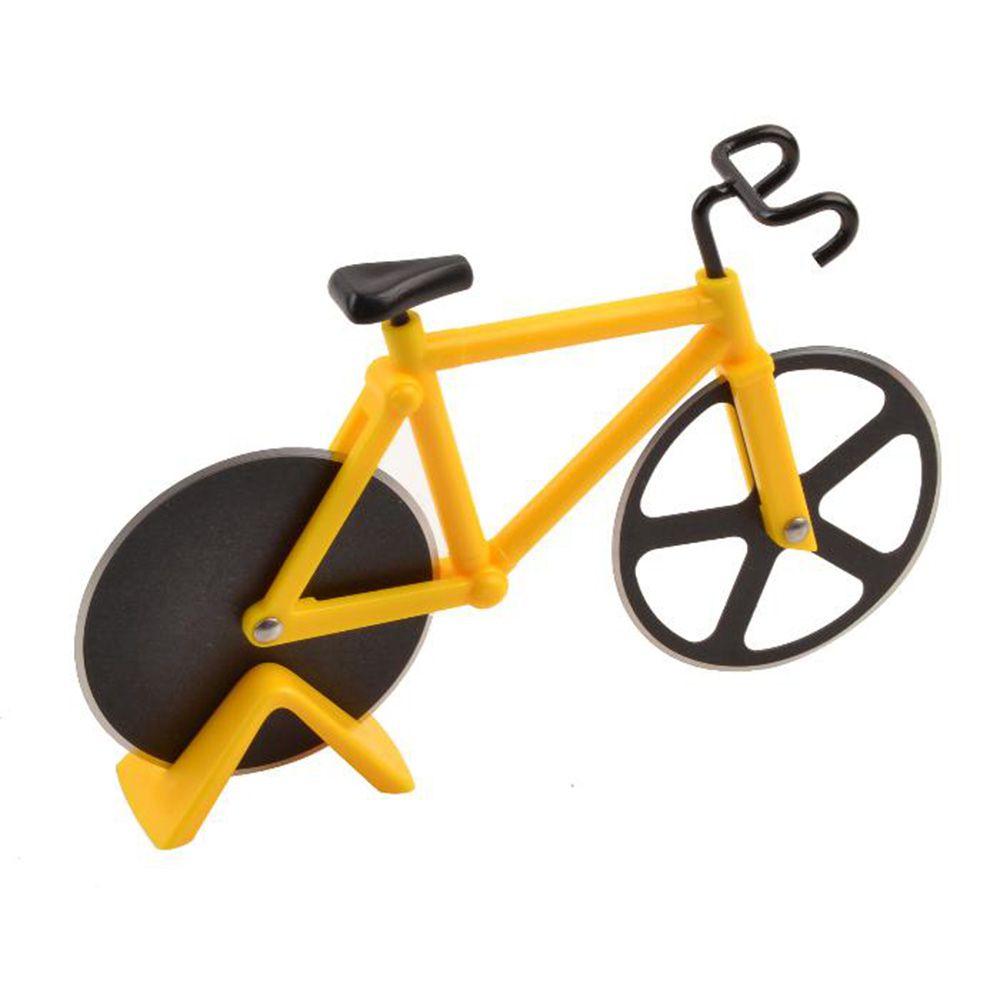 Cortador De Pizza Bicicleta Carretilha Fatiador De Pizza